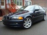 2001 Orient Blue Metallic BMW 3 Series 325i Sedan #5133587