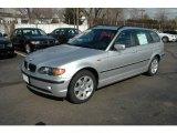 2003 Titanium Silver Metallic BMW 3 Series 325xi Wagon #5127209