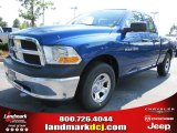 2011 Deep Water Blue Pearl Dodge Ram 1500 ST Quad Cab #51288415