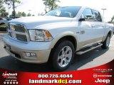 2011 Bright White Dodge Ram 1500 Laramie Longhorn Crew Cab #51288418