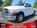 2011 Bright White Dodge Ram 1500 ST Quad Cab #51288420
