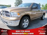 2011 Saddle Brown Pearl Dodge Ram 1500 Big Horn Quad Cab #51288421