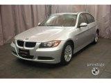 2007 Titanium Silver Metallic BMW 3 Series 328i Sedan #5121360