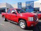 2011 Victory Red Chevrolet Silverado 1500 LT Crew Cab 4x4 #51288470