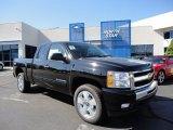 2011 Black Chevrolet Silverado 1500 LT Extended Cab 4x4 #51288476