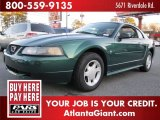 2001 Dark Highland Green Ford Mustang V6 Coupe #51289395