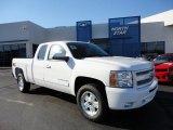 2011 Summit White Chevrolet Silverado 1500 LT Extended Cab 4x4 #51288486
