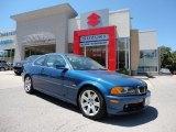 2001 Topaz Blue Metallic BMW 3 Series 325i Coupe #51288510