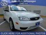 2005 Cloud 9 White Ford Focus ZX4 S Sedan #51289431