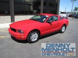2007 Torch Red Ford Mustang V6 Deluxe Coupe #51289004