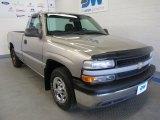 2001 Light Pewter Metallic Chevrolet Silverado 1500 Regular Cab #51288945