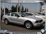 2006 Satin Silver Metallic Ford Mustang V6 Deluxe Coupe #51425269
