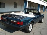 1991 Ford Mustang Dark Emerald Green