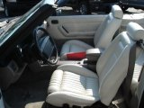 1991 Ford Mustang LX 5.0 Convertible White/Titanium Interior