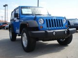 2011 Cosmos Blue Jeep Wrangler Sport S 4x4 #51425449