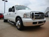 2005 Oxford White Ford F350 Super Duty Lariat Crew Cab Dually #51425454