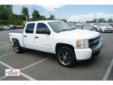 2008 Summit White Chevrolet Silverado 1500 LT Crew Cab 4x4 #51425018