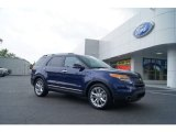 Kona Blue Metallic Ford Explorer in 2011