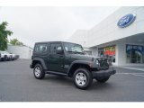 2011 Natural Green Pearl Jeep Wrangler Sport 4x4 #51425194