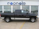 2004 Black Dodge Ram 1500 SLT Quad Cab #51425196