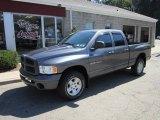 2004 Graphite Metallic Dodge Ram 1500 SLT Sport Quad Cab 4x4 #51425315