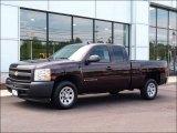 2008 Dark Cherry Metallic Chevrolet Silverado 1500 Work Truck Extended Cab #51425493