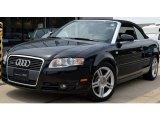 2008 Brilliant Black Audi A4 2.0T quattro Cabriolet #51425223