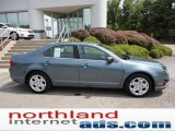 2011 Steel Blue Metallic Ford Fusion SE #51425073