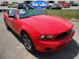 2011 Race Red Ford Mustang V6 Premium Convertible #51425695