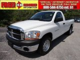 2006 Bright White Dodge Ram 1500 ST Regular Cab #51425550