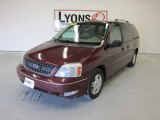 2007 Dark Toreador Red Metallic Ford Freestar SEL #51478432