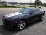2010 Imperial Blue Metallic Chevrolet Camaro SS/RS Coupe #51479438