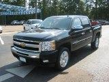 2011 Black Chevrolet Silverado 1500 LT Crew Cab #51479444