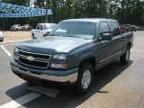 2007 Blue Granite Metallic Chevrolet Silverado 1500 Classic LS Crew Cab 4x4 #51479453