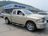 2011 White Gold Dodge Ram 1500 Big Horn Quad Cab 4x4 #51479273