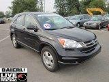 2010 Crystal Black Pearl Honda CR-V LX AWD #51478633