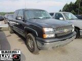 2004 Dark Gray Metallic Chevrolet Silverado 1500 LS Extended Cab 4x4 #51478656