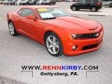 2010 Inferno Orange Metallic Chevrolet Camaro SS Coupe #51479297