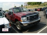 2004 Dark Toreador Red Metallic Ford F250 Super Duty XLT SuperCab 4x4 #51478672