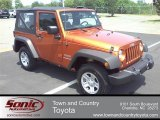 2010 Mango Tango Pearl Jeep Wrangler Sport 4x4 #51479361
