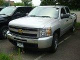 2011 Sheer Silver Metallic Chevrolet Silverado 1500 LS Crew Cab #51478958