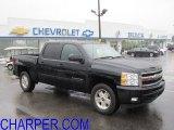 2011 Black Chevrolet Silverado 1500 LTZ Crew Cab 4x4 #51479558