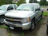 2011 Sheer Silver Metallic Chevrolet Silverado 1500 LS Crew Cab #51478966