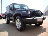 2011 Black Jeep Wrangler Sahara 4x4 #51479365