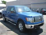 2011 Blue Flame Metallic Ford F150 XLT SuperCab 4x4 #51479141