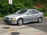 1997 Arctic Silver Metallic BMW 3 Series 328i Sedan #51479173