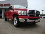 2007 Flame Red Dodge Ram 1500 ST Quad Cab #51542217