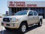 2007 Desert Sand Mica Toyota Tacoma V6 SR5 PreRunner Double Cab #51542007