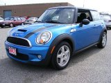 2007 Laser Blue Metallic Mini Cooper S Hardtop #5131075