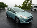 2012 Frosted Glass Metallic Ford Focus SE 5-Door #51542033